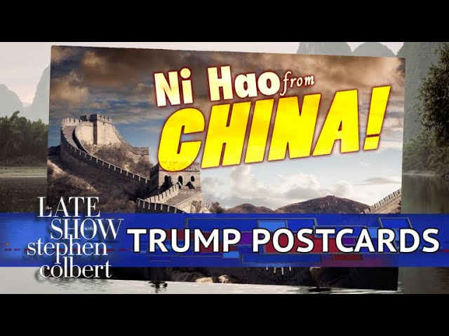 The Trump Postcards: Asia Edition