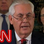 Did Tillerson just take a veiled shot at Trump?
