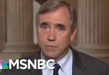 Jeff Merkley: Migrants Detained At Border Need Four Months Before Asylum Hearing | MTP Daily | MSNBC