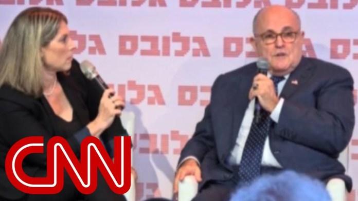 Giuliani: Kim 'begged' to reschedule summit