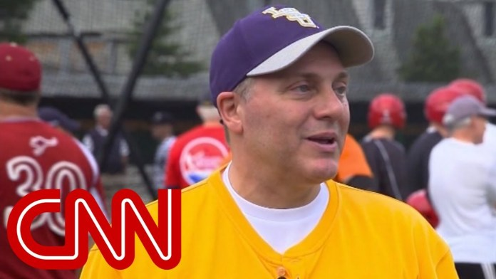 Scalise returns to congressional baseball game