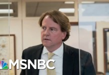 'Sources' Give McGahn Notably Consistent Positive Media Coverage | Rachel Maddow | MSNBC