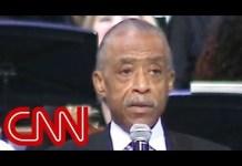 Al Sharpton slams Trump at Aretha Franklin's funeral