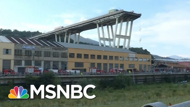 Almost 1 Out Of Every 10 U.S. Bridges Need Repairing | Velshi & Ruhle | MSNBC