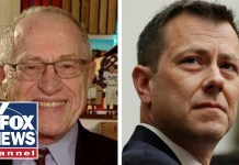Dershowitz: Strzok's mistake was not recusing himself