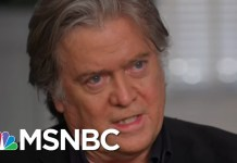 Ari Questions Steve Bannon About President Trump Charlottesville Comments | The Last Word | MSNBC