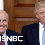 Ex-Watergate Prosecutor: Rudy Giuliani's 'Very Weak' Defense Of Donald Trump | The Last Word | MSNBC