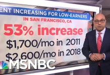 Rent Prices Down For The Rich, Up For Everyone Else | Velshi & Ruhle | MSNBC