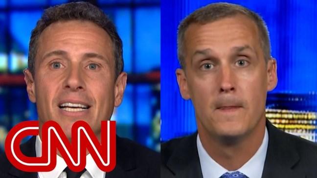Chris Cuomo and Corey Lewandowski spar over Russia probe