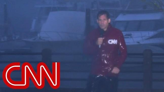 CNN's John Berman weathers Hurricane Florence