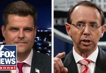 Gaetz: Appropriate for Rosenstein to joke about wiretap?
