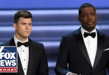 Hollywood takes aim at Republicans, Christians at Emmys