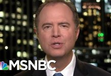 "Representative Adam Schiff: ""A Slow-Moving Saturday Night Massacre"" 