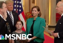 Donald Trump Says Brett Kavanaugh Was Proven Innocent (He Wasn't) | The 11th Hour | MSNBC
