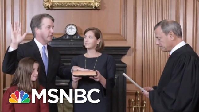 Donald Trump's Deep Unpopularity A Burden To Campaigning Republicans | Rachel Maddow | MSNBC