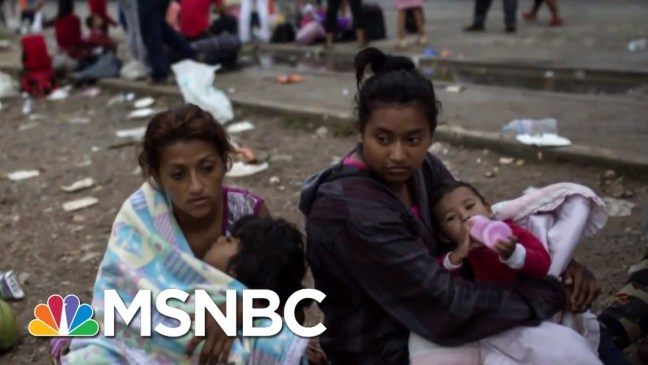 Troops Remain At Southern Border As Donald Trump Zeroes In On Caravan | Velshi & Ruhle | MSNBC