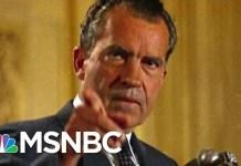 Has President Donald Trump Become Nixonian? | Morning Joe | MSNBC