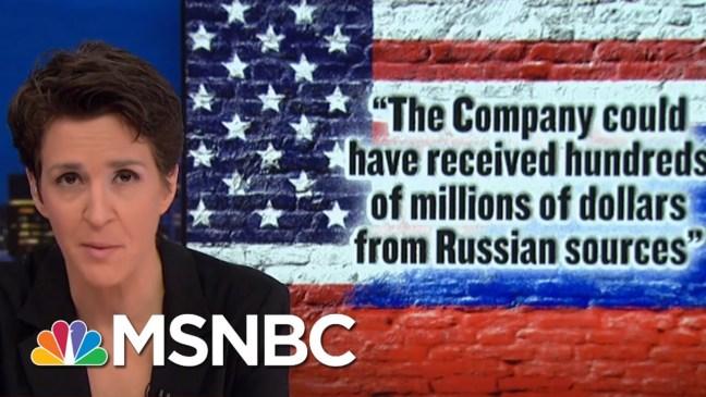 Mueller's Cohen Filing Points To President Trump's Role In Criminal Scheme   Rachel Maddow   MSNBC