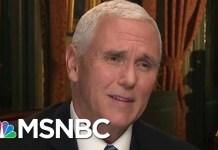 Joe: Mike Pence Knows He's Lying About Border Stats   Morning Joe   MSNBC