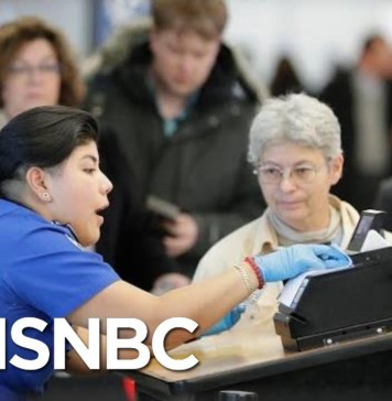Ground Stop Issued At LaGuardia Airport Due To Staffing Issues | Hallie Jackson | MSNBC