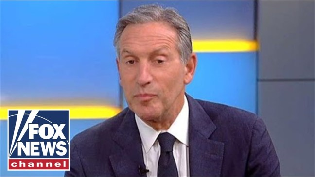 Howard Schultz: We can't have a country where millions are left behind
