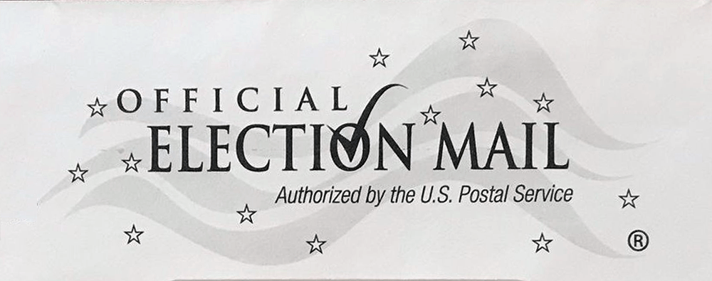 official election mail logo