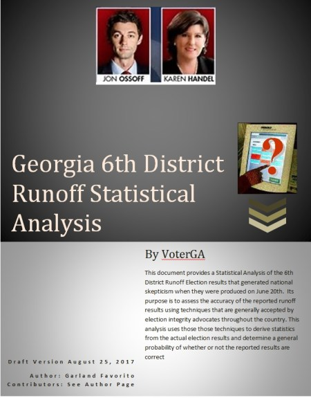 GA6 Runoff Statistical Analysis