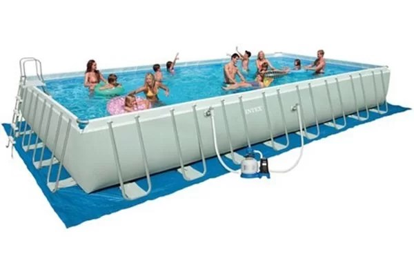 piscine tubulaire intex ultra frame