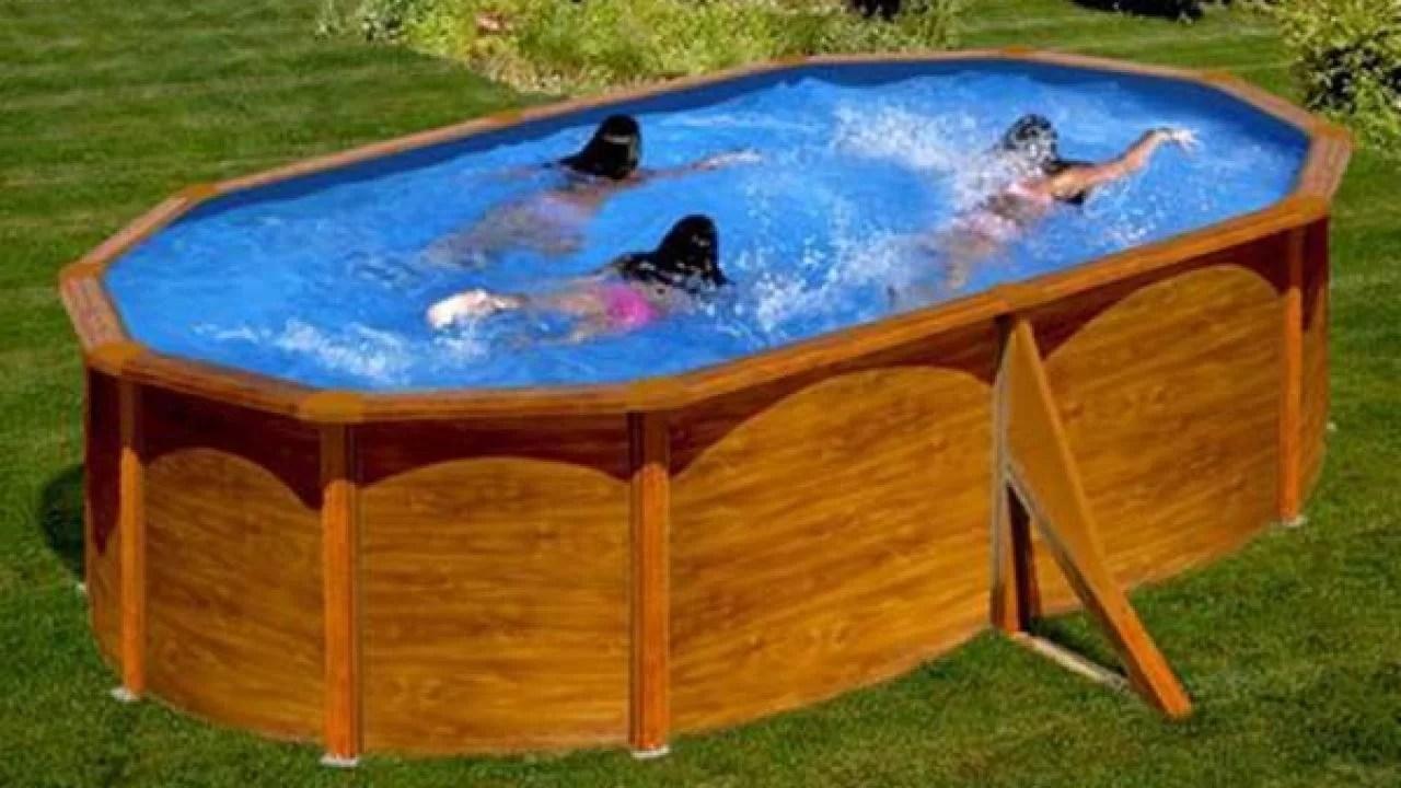 piscine acier aspect bois gre silicia