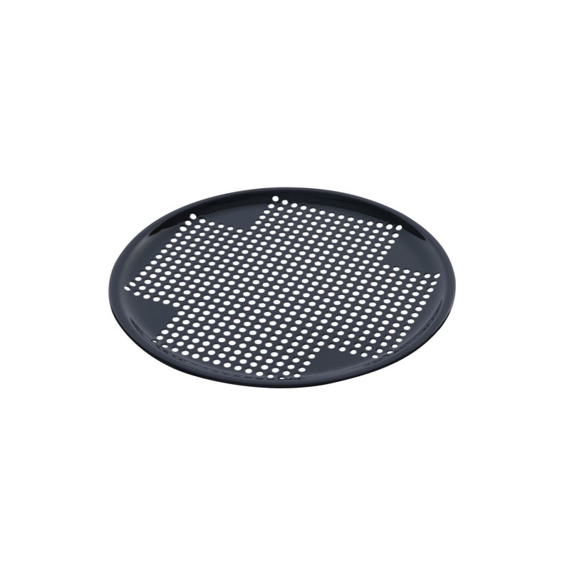 grille ronde performee emaillee 33cm