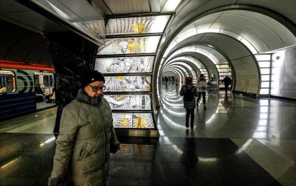 station Fonvizinskaïa métro Moscou