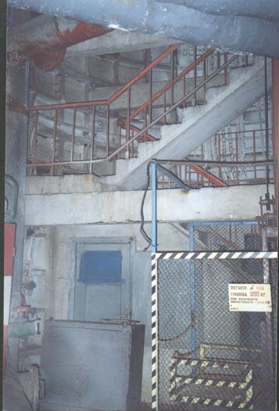 escalier ligne d6 métro 2 moscou