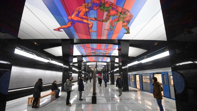 station Rjevskaïa métro Moscou