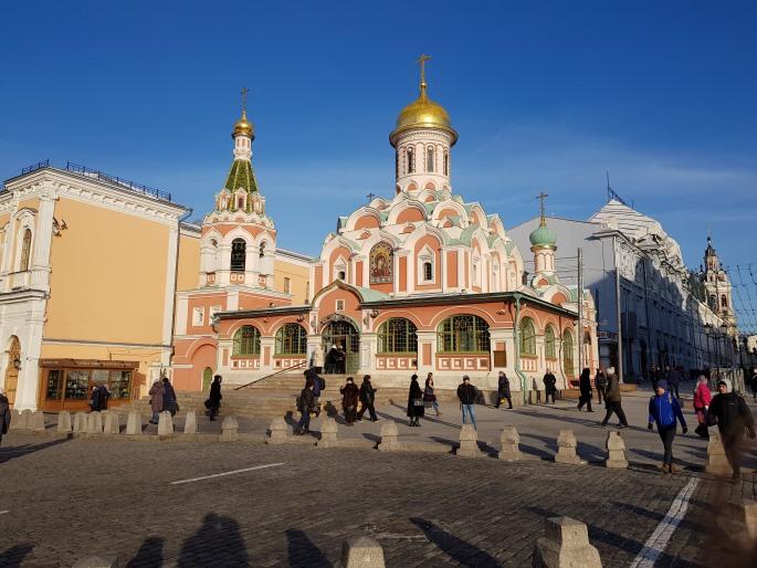 Notre Dame de Kazan Place Rouge