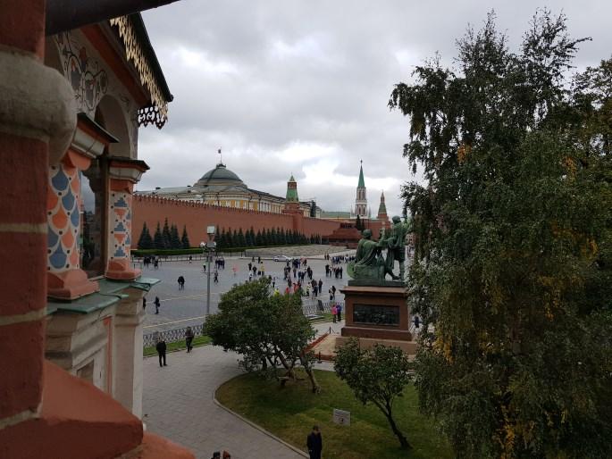 Place Rouge vue depuis Saint Basile