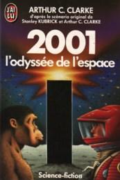 couverture livre 2001 l'odyssée de l'espace