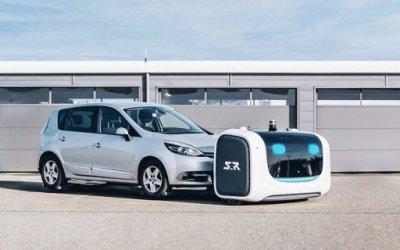 Des robots garent les voitures dans l'un des aéroports les plus fréquentés de France