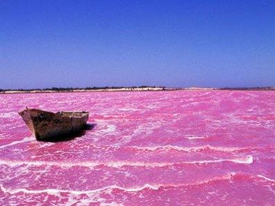 Le lac rose, à ne pas manquer