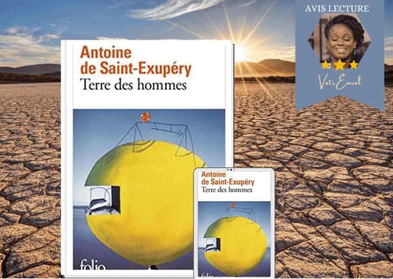 Read more about the article Terre des hommes d'Antoine de Saint-Exupéry