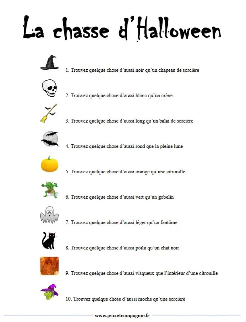 Halloween - Bonbons et sorts sans péril