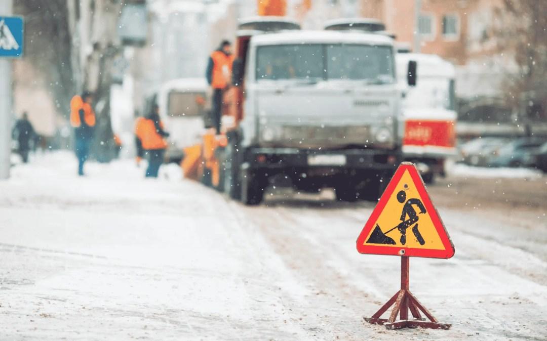 Entretien hivernal des routes