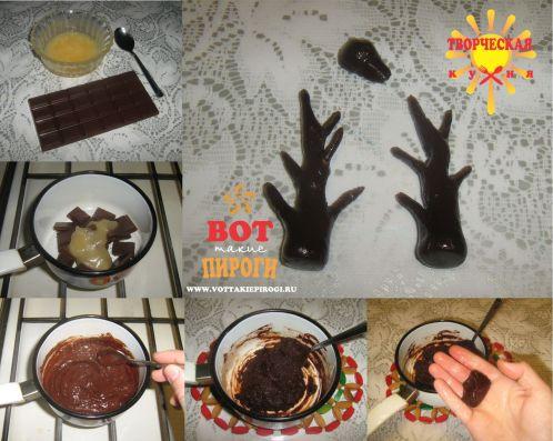 шоколадная мастика