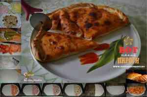 кальцоне закрытая пицца