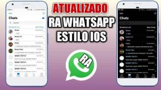 RA WhatsApp 8.25 iOS