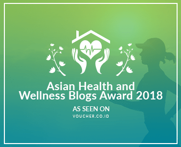 Asian Health and Wellness Blogs Award 2018