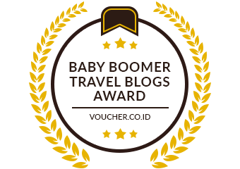 Banners for Top Baby Boomer Travel Blogs Award