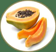 papaia para a pele