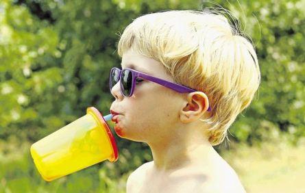 sucos para crianças com alergia