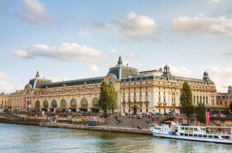 Prédio do Museu de Orsay em Paris
