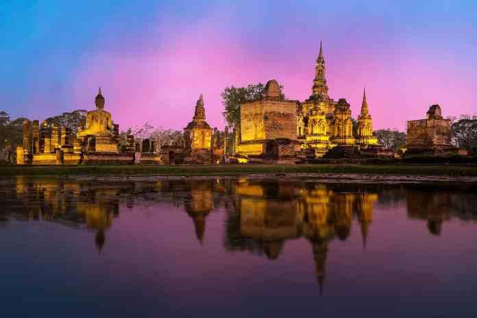 O 1º prémio do passatempo do Turismo da Tailândia é uma viagem a Banguecoque